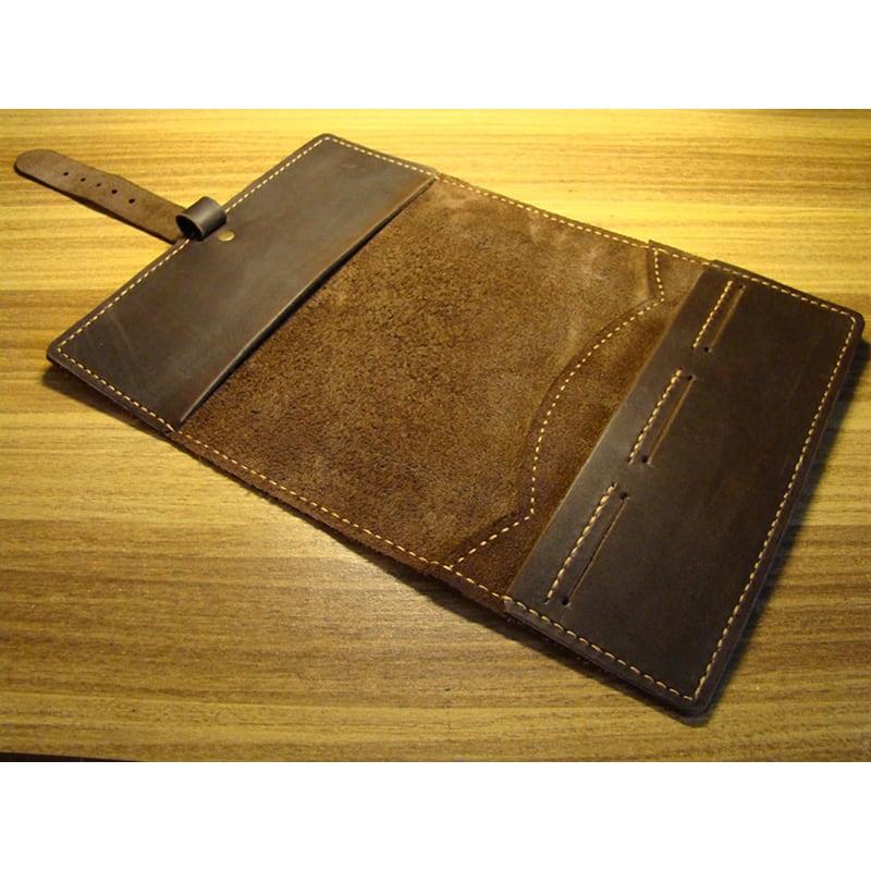 Обкладинка для блокнота Pasadena brown leather