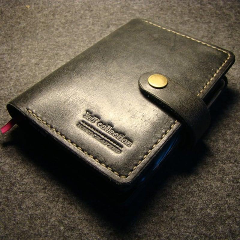 Обкладинка для блокнота San Angelo black leather