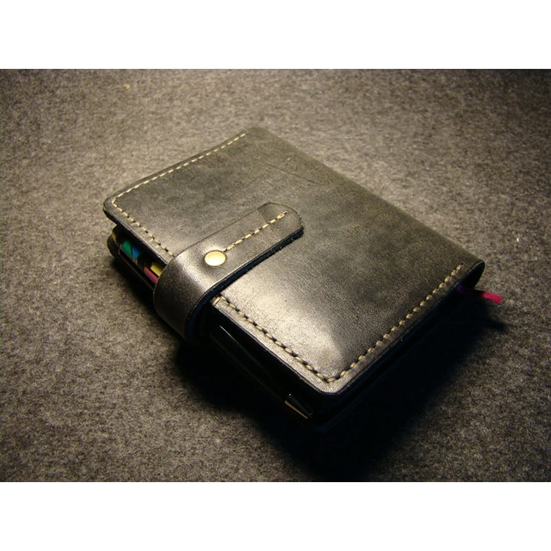 Обложка для блокнота San Angelo black leather