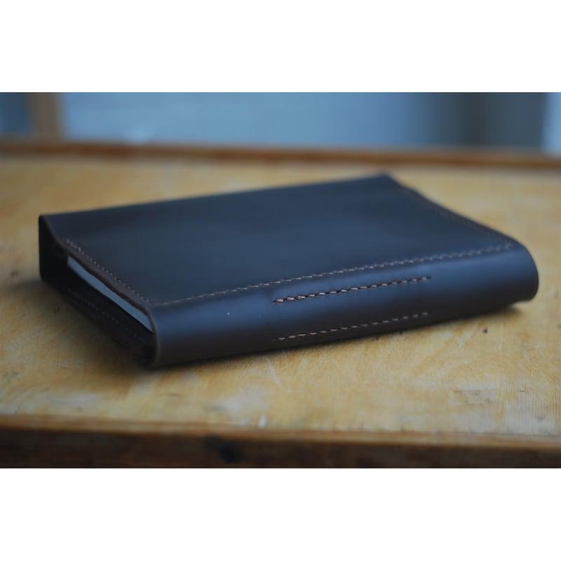 Шкіряний блокнот А5 Atascocita black leather