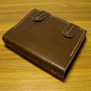 Кожаный блокнот А5 Harlingen brown leather