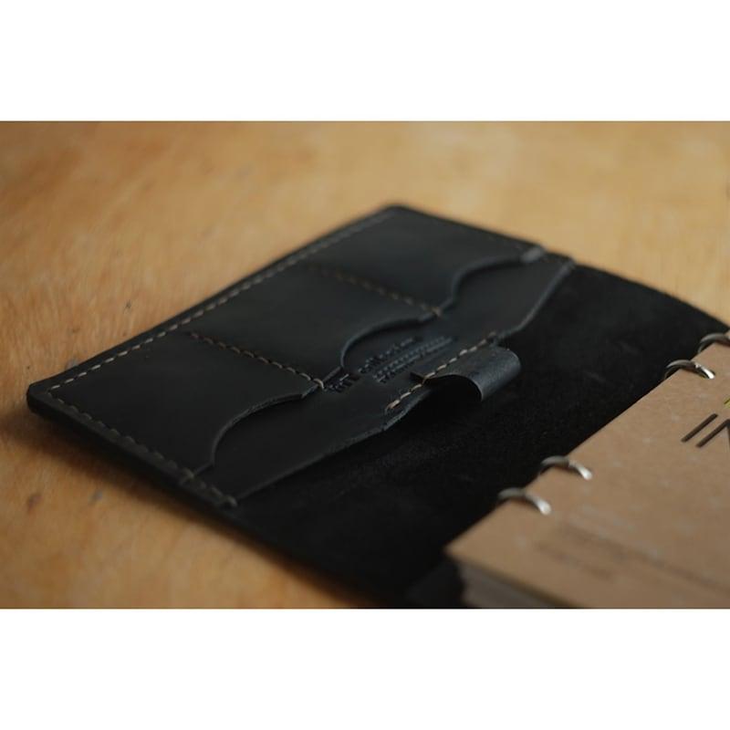 Шкіряний блокнот DeSoto blue leather