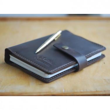 Шкіряний блокнот Allen brown leather