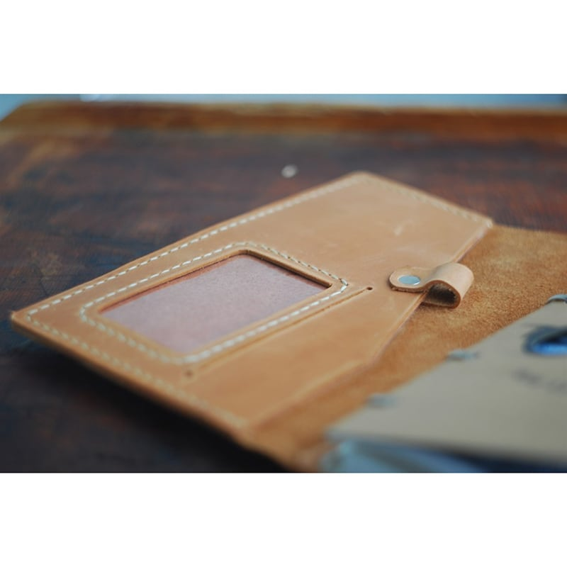 Кожаный блокнот ежедневник в6 Abilene brown leather
