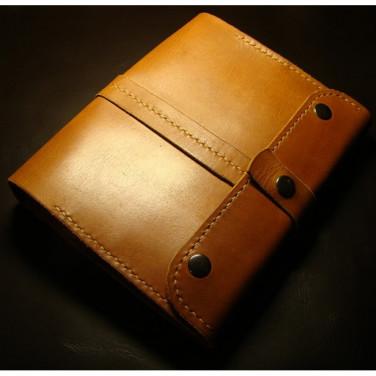 Шкіряний блокнот-щоденник А5 Baytown brown leather