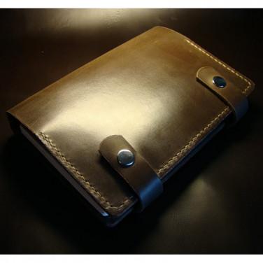 Кожаный блокнот А5 Pharr brown leather