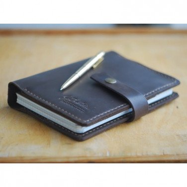 Кожаный блокнот Allen brown leather