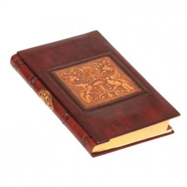 Кожаная адресная книга Florentine Dragon brown leather