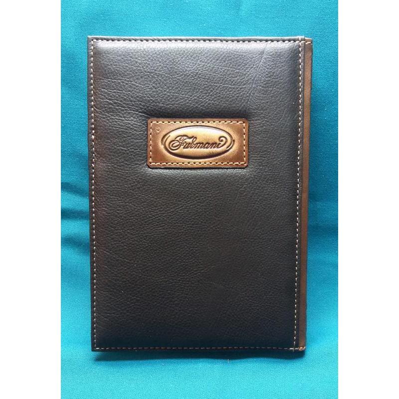 Кожаный блокнот ручной работы Царь Зверей brown leather