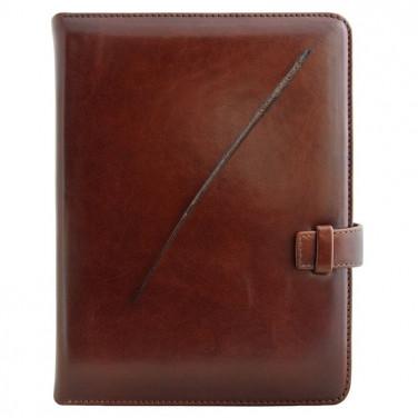 Щоденник в шкіряній палітурці Vintage brown leather