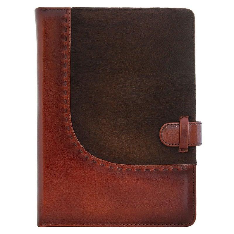 Шкіряний блокнот Western brown leather