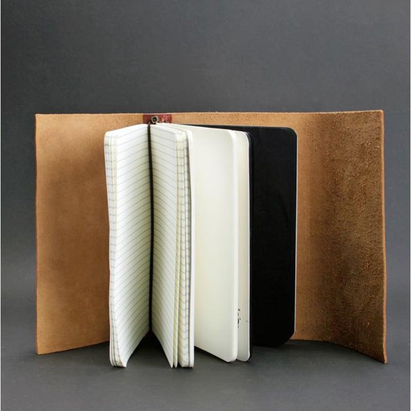 Шкіряний блокнот дизайнерський чоловічий Diary Brown Leather