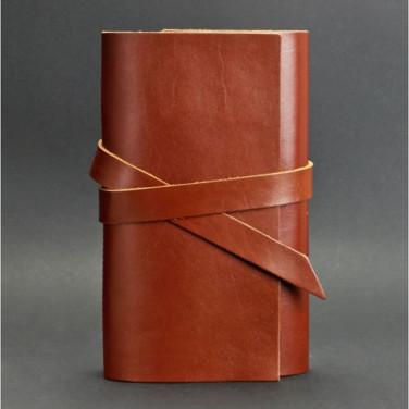 Кожаный блокнот дизайнерский мужской Diary Brown Leather