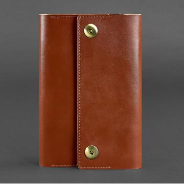 Ежедневник в кожаном переплете Soft Book Cinnamon brown leather