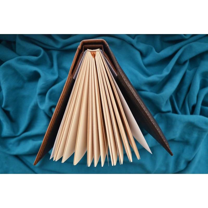 Блокнот в кожаной обложке Тотем Совы brown leather