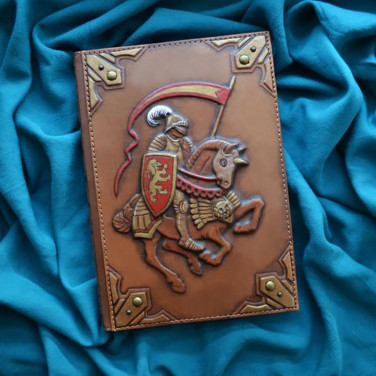 Щоденник в шкіряній палітурці Сhevalier brown leather