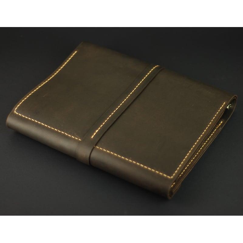 Кожаный ежедневник Б5 Jotter brown leather