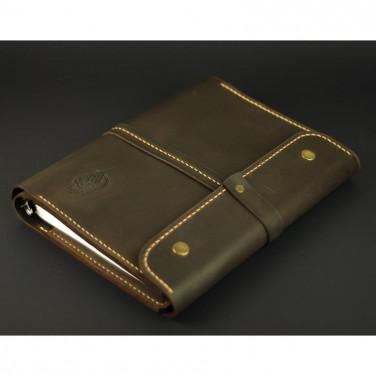 Шкіряний щоденник Б5 Jotter brown leather