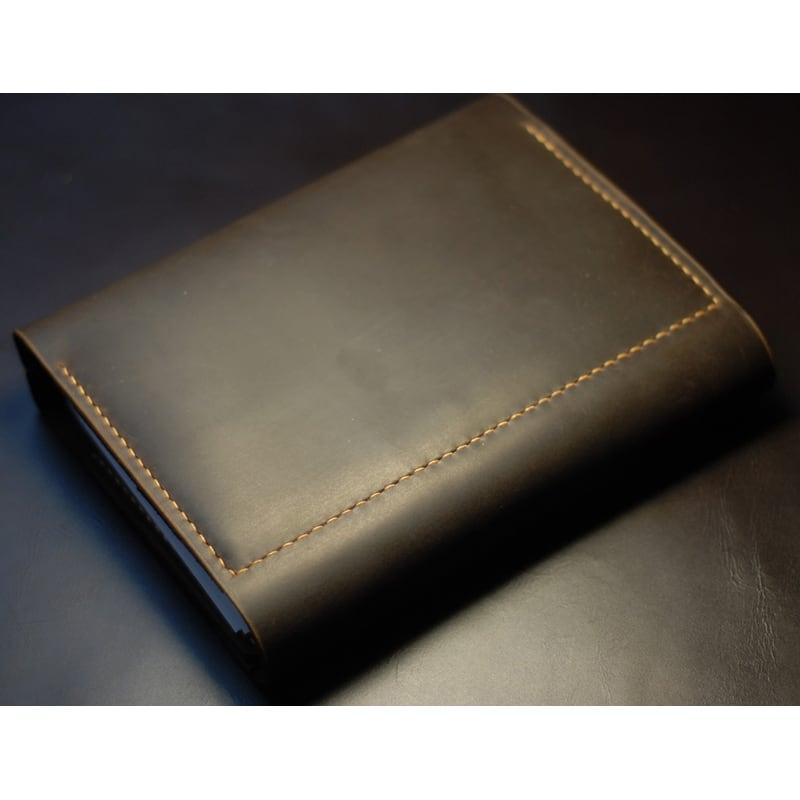 Кожаный ежедневник А5 Notebook brown leather