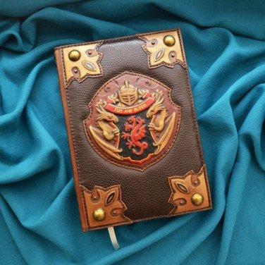 Шкіряний блокнот Game of Thrones brown leather