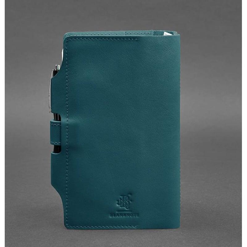 Блокнот в кожаном переплете SoftBook Emerald Green Leather