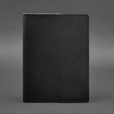 Кожаная обложка для блокнота Krust Black Leather
