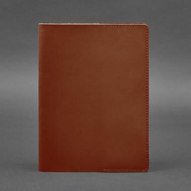 Шкіряна обкладинка для блокнота Crust Brown Leather