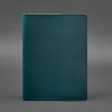 Кожаная обложка для блокнота А5 Nephritis Green Leather