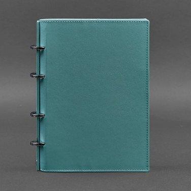 Блокнот кожаный А5 Emerald Green Leather