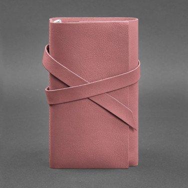 Женский кожаный блокнот SoftBook Peach Pink Leather