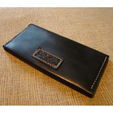 Гаманець чоловічий Purse Black Leather