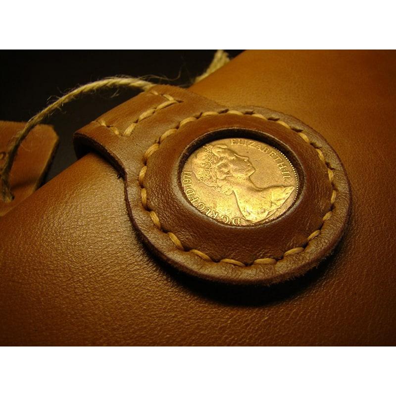 Мужское портмоне Purse Brown Leather
