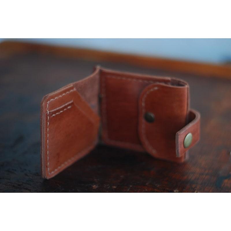 Зажим для купюр мужской Wallet Brown Leather