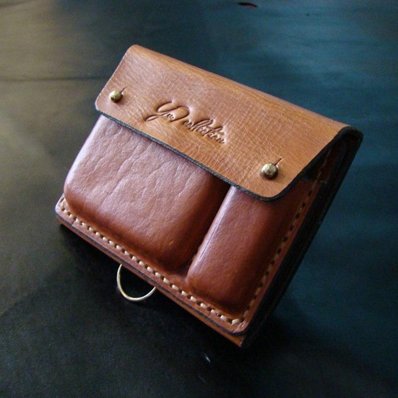 Мужской кошелек на ремень Wallet Brown Leather