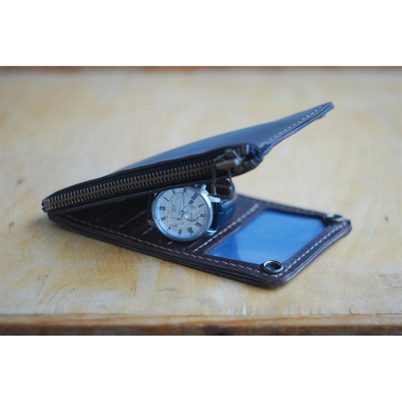 Кошелек мужской кожаный Wallet Brown Leather