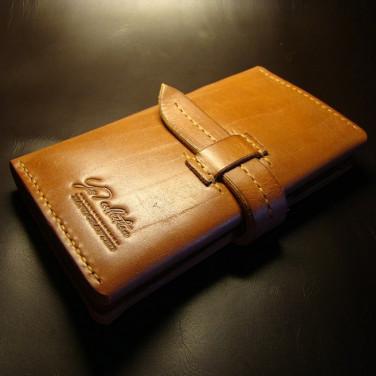 Мужской кожаный клатч Clutch Brown Leather