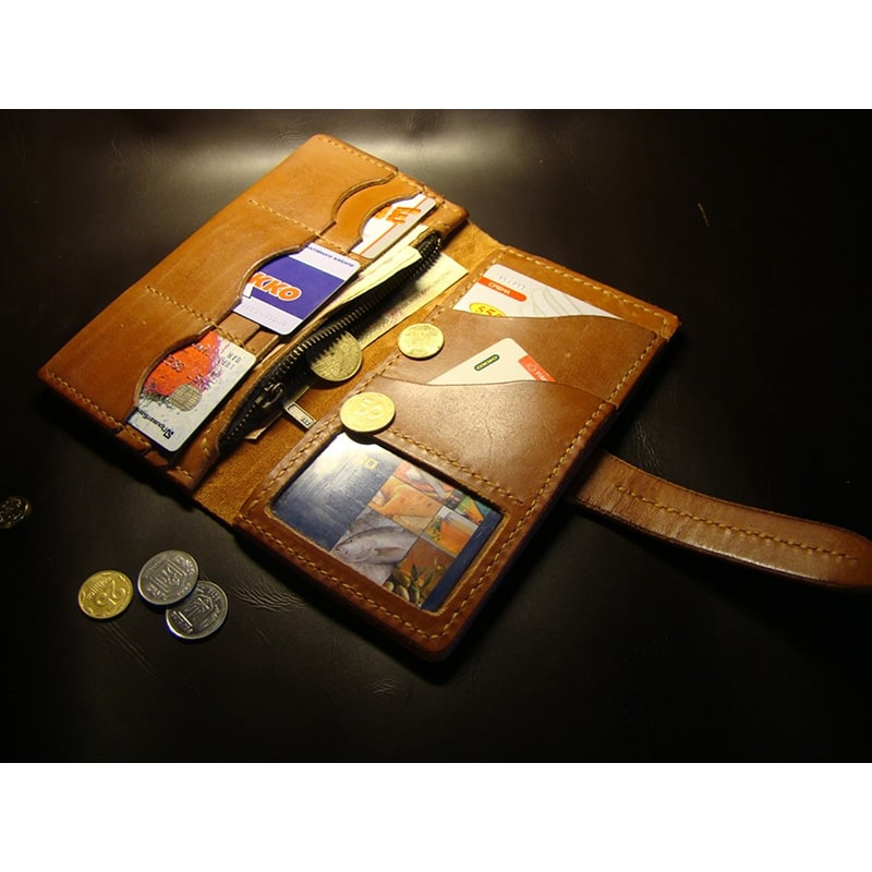 Чоловічий шкіряний клатч Clutch Brown Leather