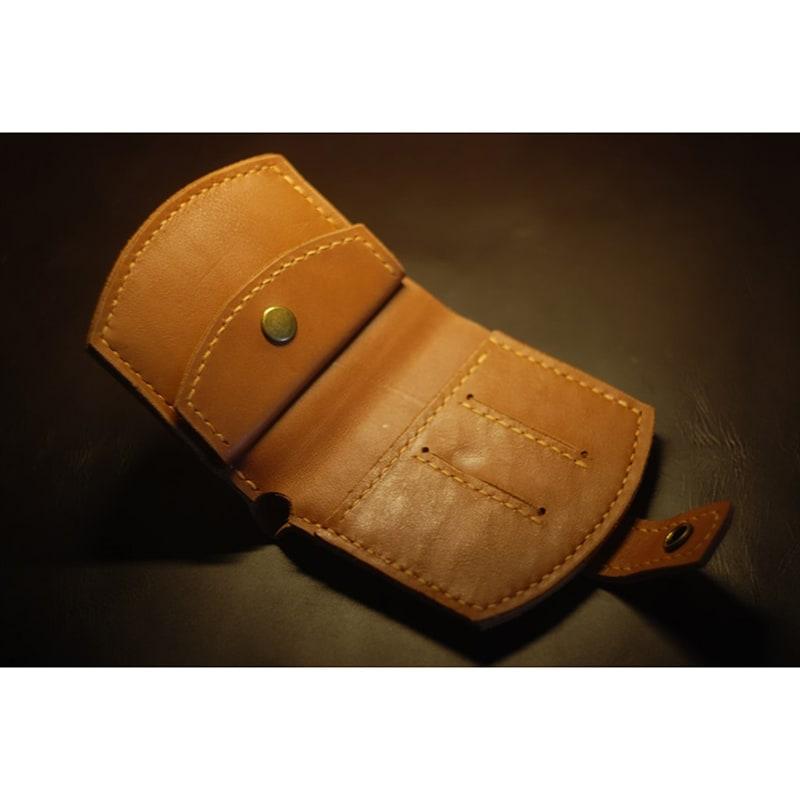 Чоловіче шкіряне портмоне Brown Leather Wallet