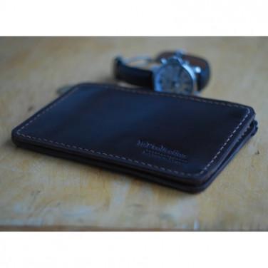 Гаманець чоловічий шкіряний Brown Leather Wallet
