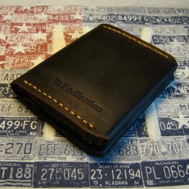 Чоловічий гаманець Purse Brown Leather