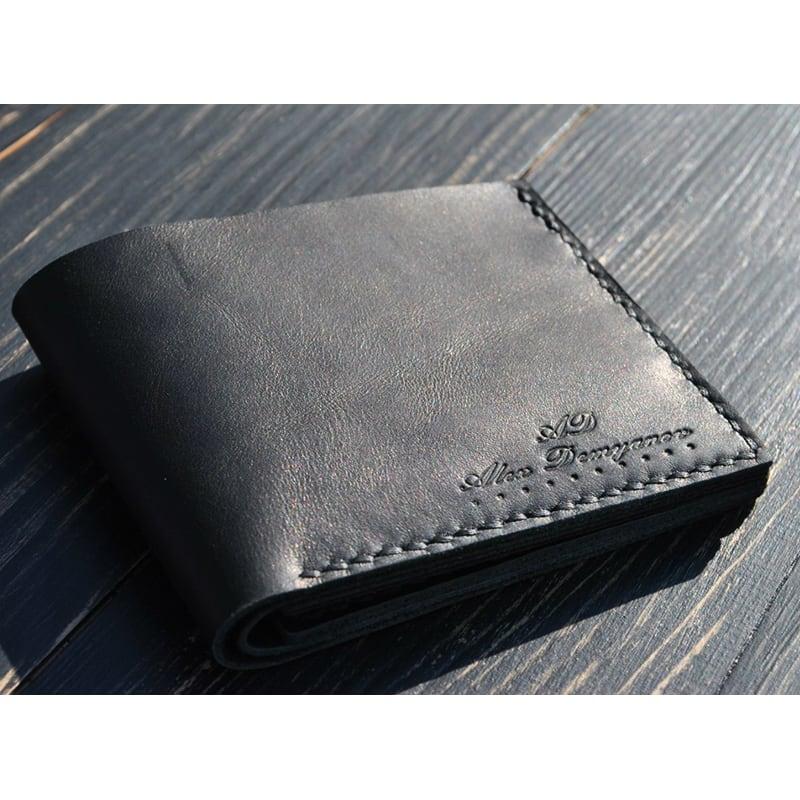 Кошелек мужской Purse Classic black leather