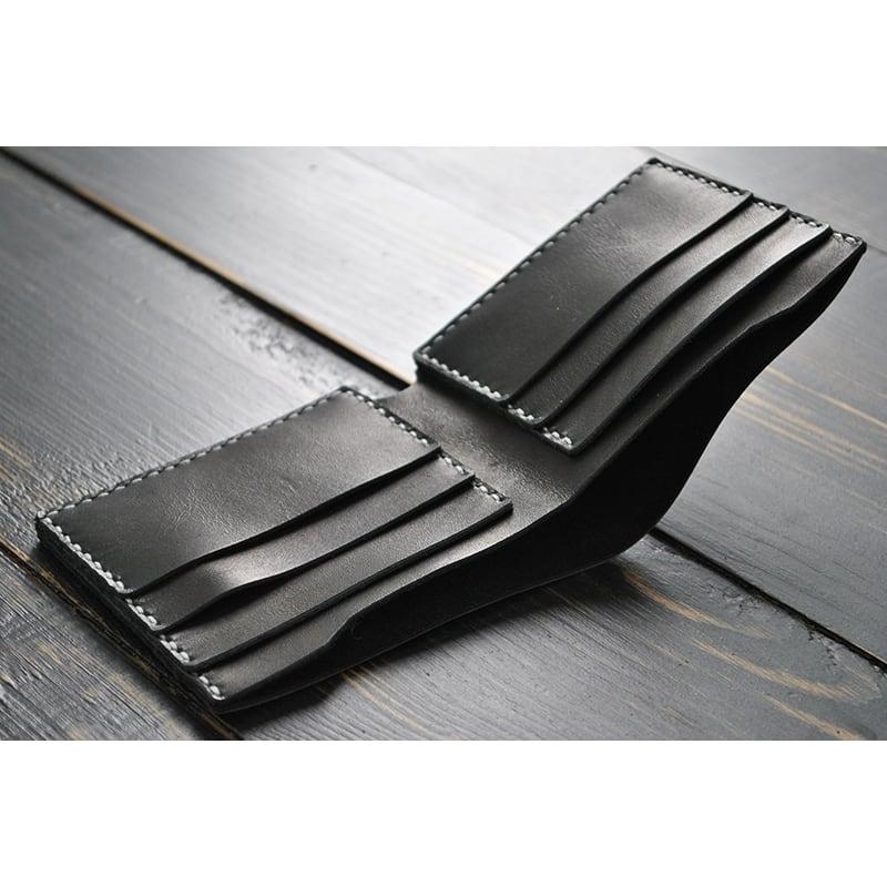 Мужское портмоне кожаное Purse Che Guevara black leather