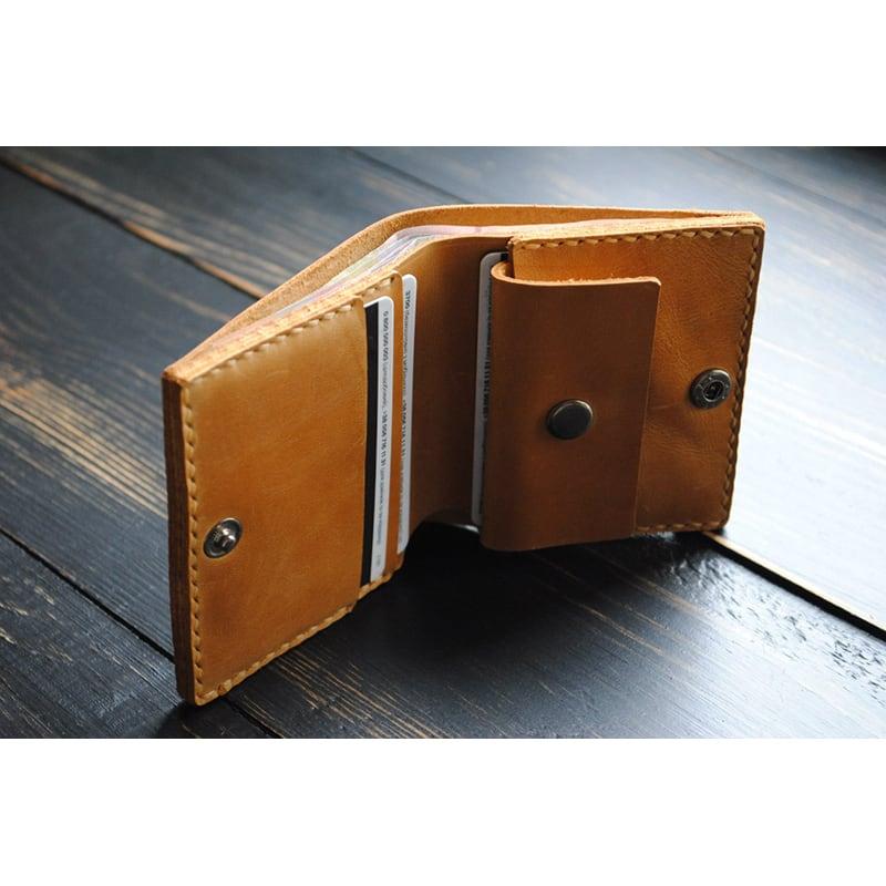 Кошелек мужской Purse Umbra brown leather