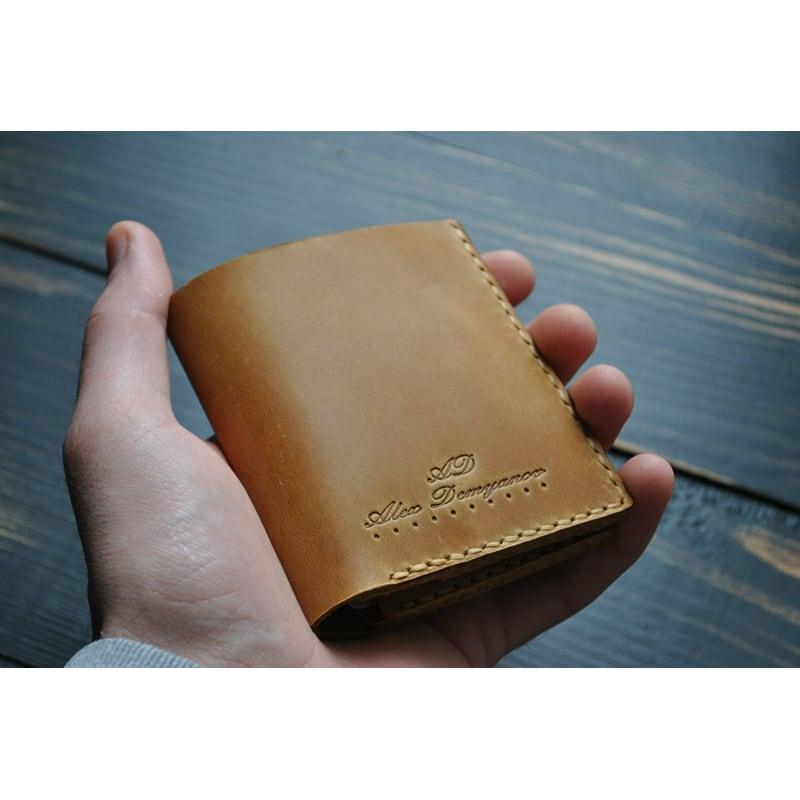 Гаманець чоловічий Purse Umbra brown leather
