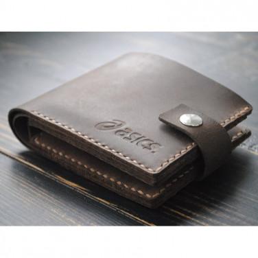 Кошелек мужской Purse Terracotta brown leather