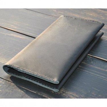 Гаманець чоловічий шкіряний Wallet Original black leather