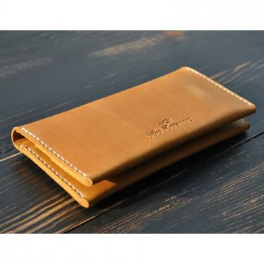 Портмоне мужское Purse Sienna brown leather