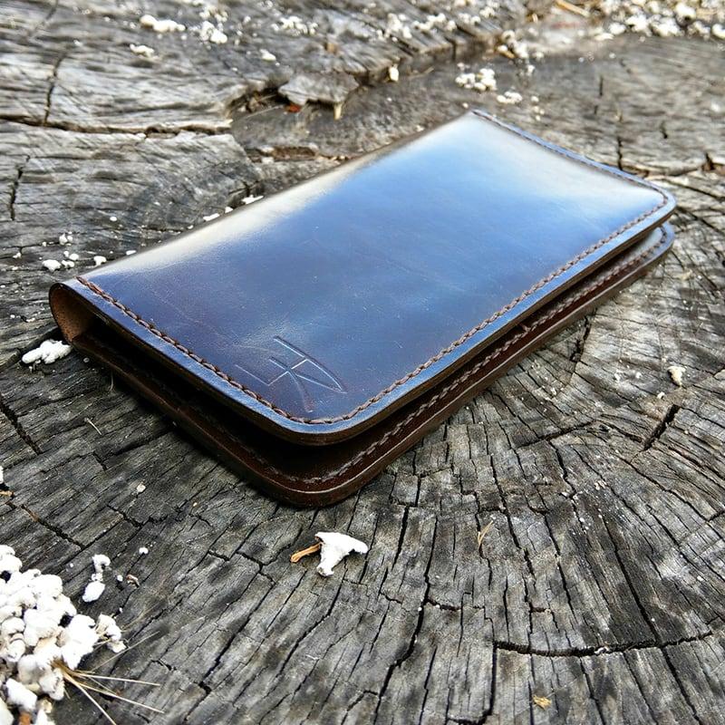 Мужской кошелек Italian Style brown leather