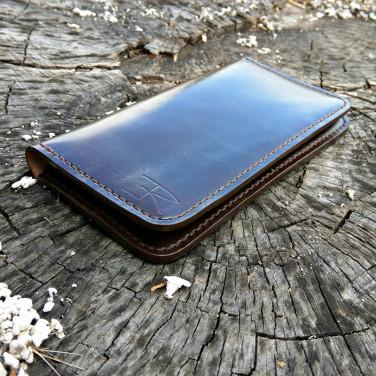 Чоловічий гаманець Italian Style brown leather