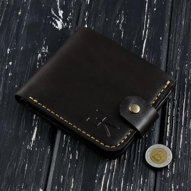 Мужской кошелек Purse Рouch brown leather